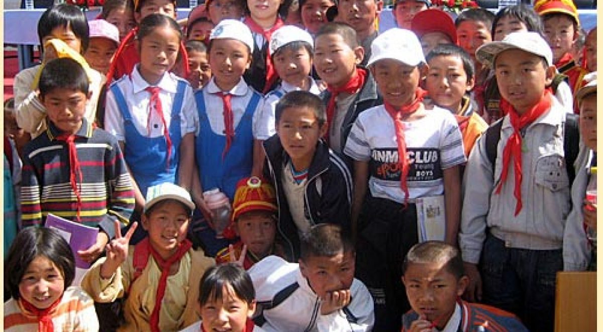 50の学校プロジェクト 第9校「禾甸鎮小学校『日中友好僑心小学校』」